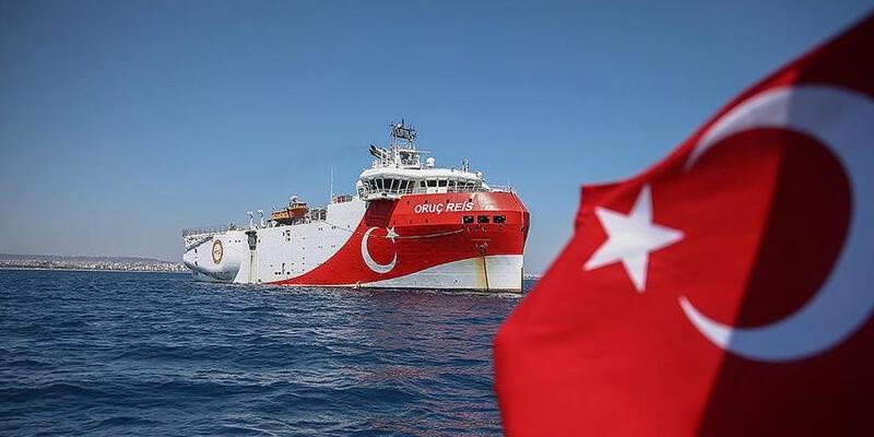 Oruç Reis gemisi Antalya Limanı'ndan ayrıldı