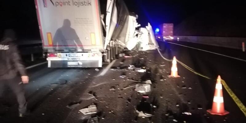 Feci kaza: Sürücü hayatını kaybetti