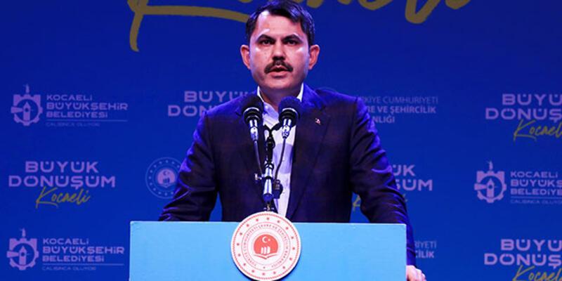 Bakan Kurum'dan kentsel dönüşüm açıklaması