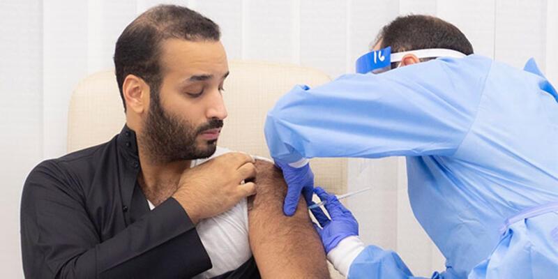 Suudi Arabistan Veliaht Prensi Selman koronavirüs aşısı oldu