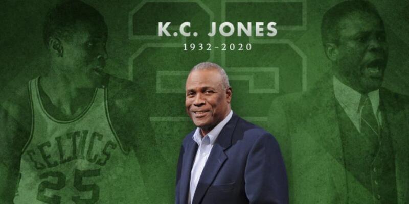 KC Jones hayatını kaybetti