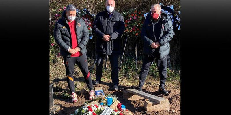 Son dakika... Galatasaray'dan Özkan Sümer'in mezarına ziyaret