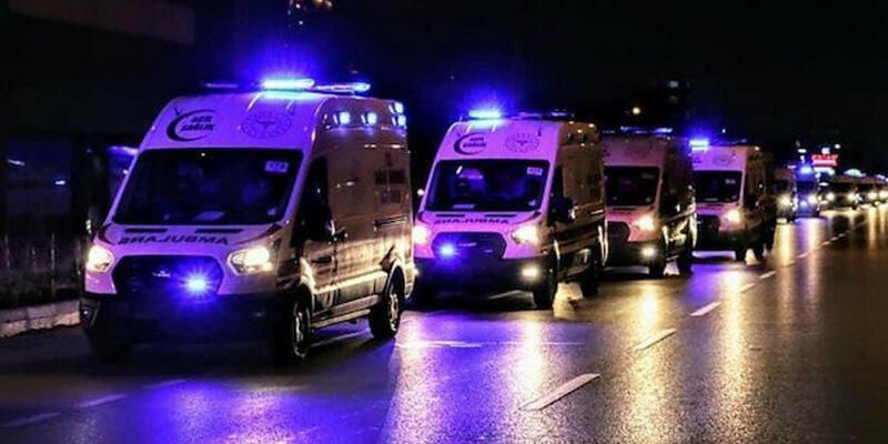 Sağlık Bakanlığı'ndan Hatay'a 35 ambulans
