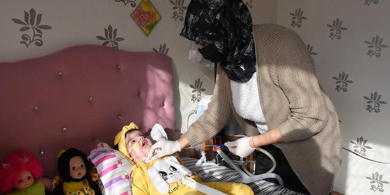 SMA hastası 17 aylık Yaren, tedavi için destek bekliyor
