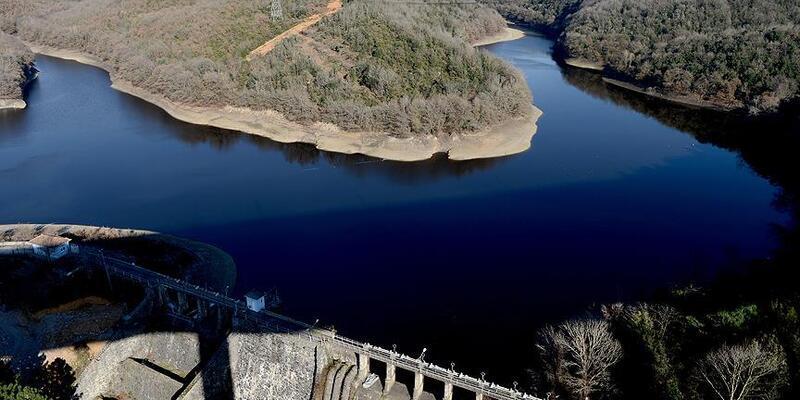 İstanbul'un barajlarındaki su seviyesi yüzde 20,93'e düştü