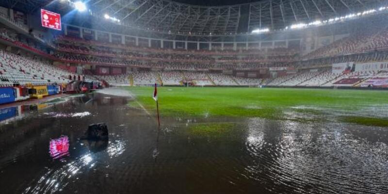 Antalyaspor-Hatayspor maçı ertelendi