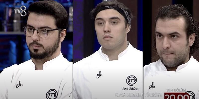 MasterChef'te ilk finalist kim oldu? 28 Aralık 2020 MasterChef kim kazandı? Emir, Barbaros, Serhat puan tablosu!