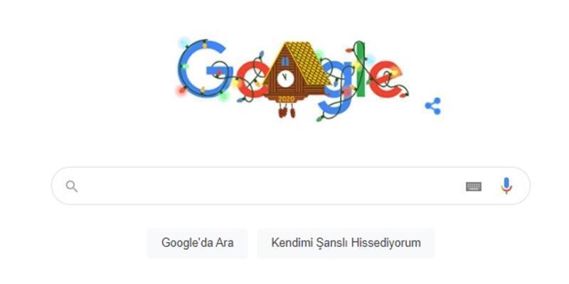 """202 yılbaşı hatası nedir? Google 2021 yılbaşı için doodle hazırladı """"202 yılbaşı"""" hatası verdi"""