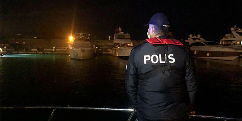 İstanbul Boğazı'nda polisten denetim