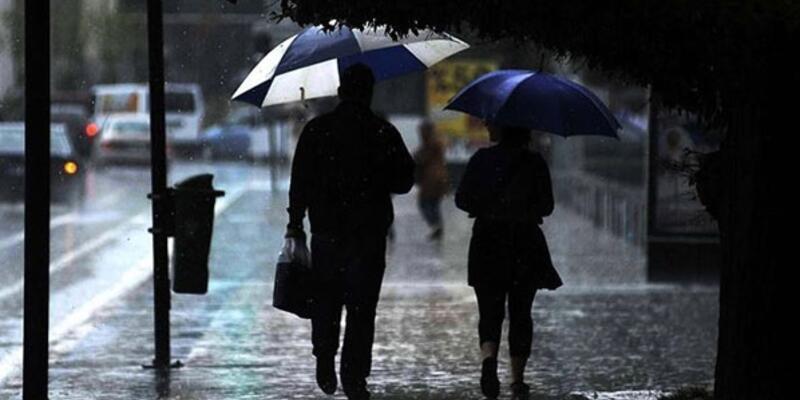01.01.2021 hava durumu: Meteoroloji'den sağanak uyarısı