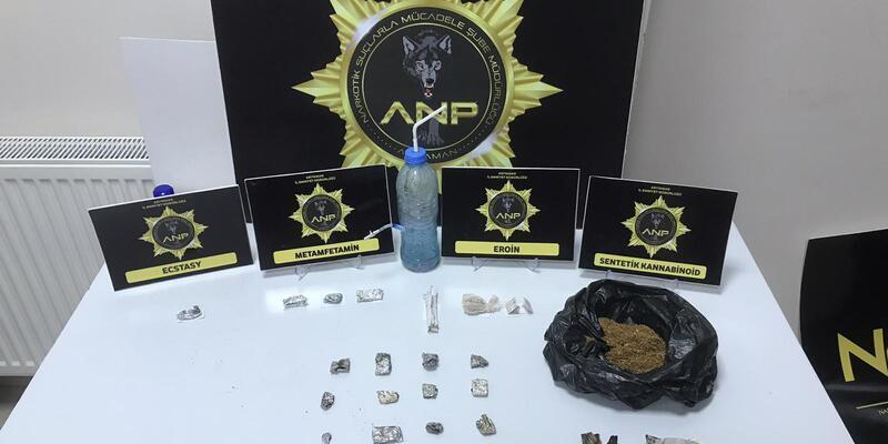 Adıyaman'da uyuşturucu partisine baskın: Gözaltılar var