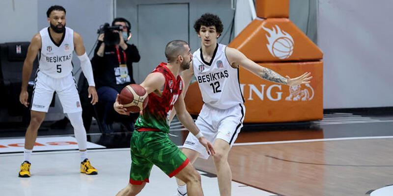 Beşiktaş - Pınar Karşıyaka: 72-84