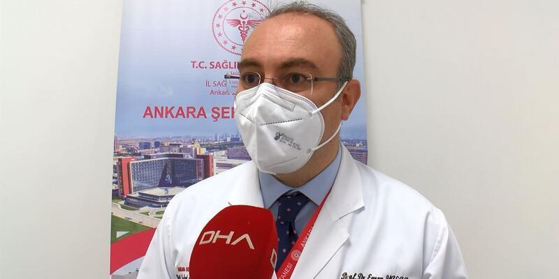 Prof. Dr. Yaşar: Artık, koronavirüse bağlı inme vakalarımız var
