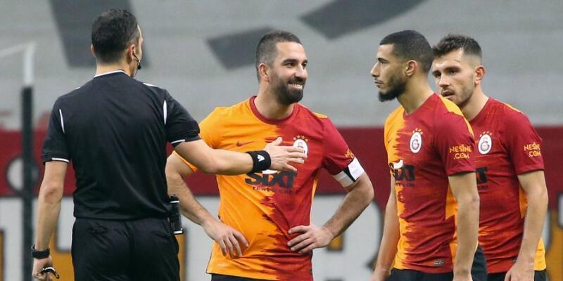 Galatasaray'da iki isim PFDK'ya sevk edildi