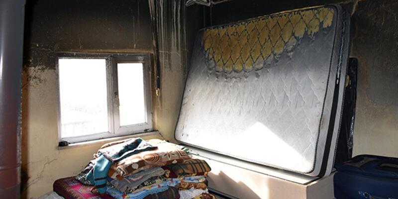 Evlerinde bir haftada 10 kez yangın çıkan aile endişeli