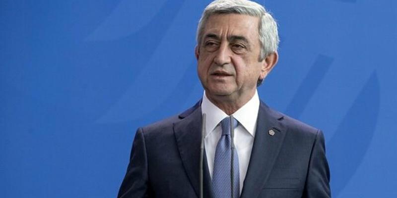Ermenistan Cumhurbaşkanı Sarkisyan, koronavirüse yakalandı