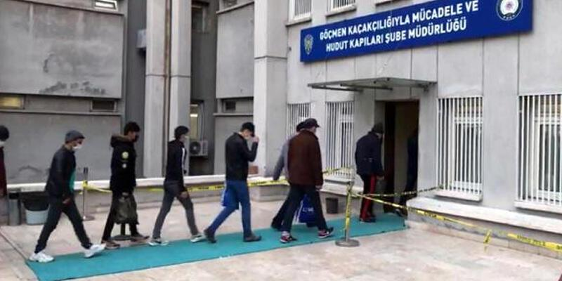 Ankara'da 44 kaçak göçmen yakalandı