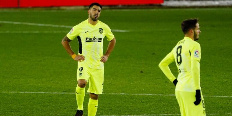 Atletico Madrid 3. lig takımına elendi