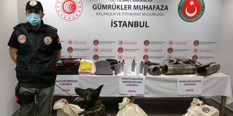 Sabiha Gökçen Havalimanı'nda uyuşturucu operasyonu