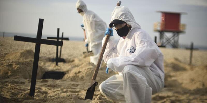 Brezilya'da koronadan ölenlerin sayısı 200 bini geçti