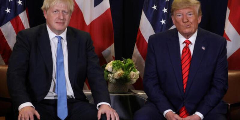 İngiltere Başbakanı Johnson'dan Trump'a kınama