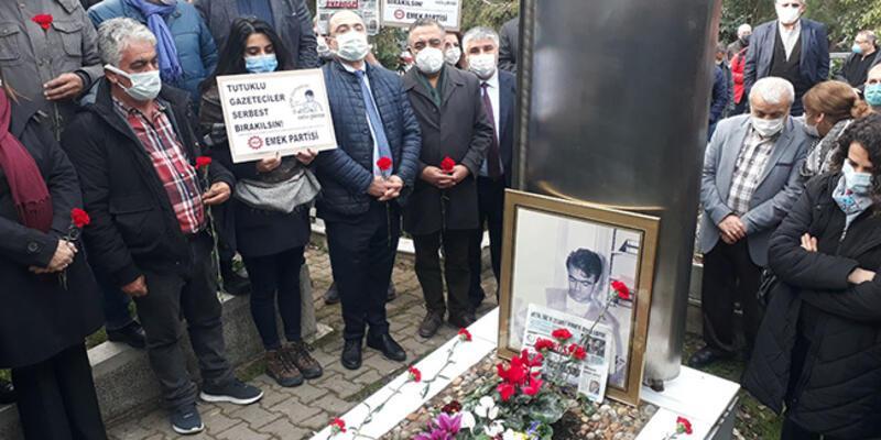Gazeteci Metin Göktepe mezarı başında anıldı