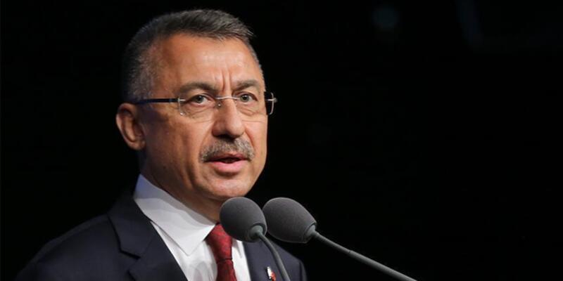 Cumhurbaşkanı Yardımcısı Oktay'dan Lice'de şehit olan asker için başsağlığı mesajı