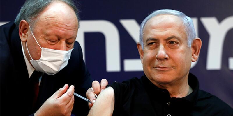 Netanyahu, koronavirüs aşısının ikinci dozunu yaptırdı