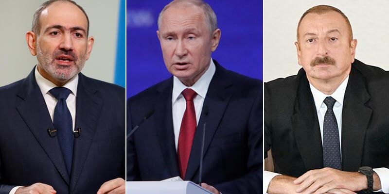 Son dakika... Putin, Aliyev ve Paşinyan yarın Moskova'da görüşecek
