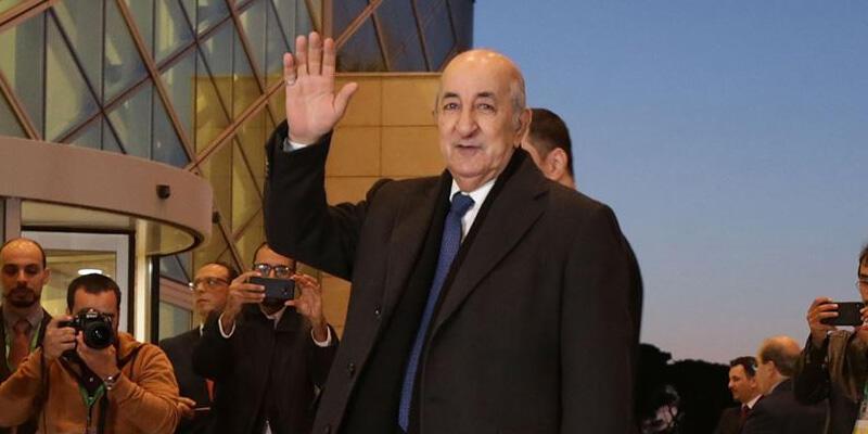 Cezayir Cumhurbaşkanı Tebbun, tedavisinin tamamlanması için Almanya'ya gitti