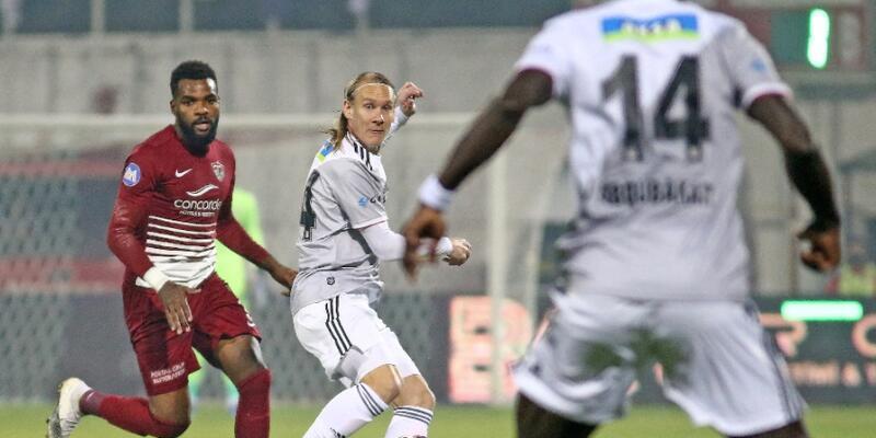 Lider Beşiktaş Hatay'da puan bıraktı