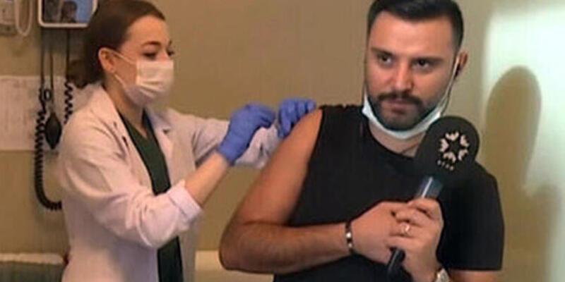 Koronavirüs aşısı olan Alişan'dan açıklama: Ben de gönüllüyüm