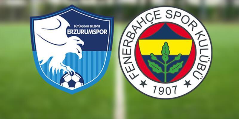 Erzurumspor Fenerbahçe canlı yayın hangi kanalda? Erzurum FB maçı saat kaçta izlenecek?