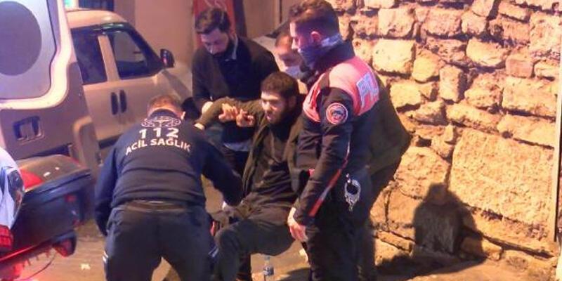 Beyoğlu'nda silahlı saldırı: 2 yaralı