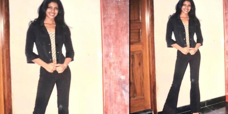 Priyanka Chopra 17 yaşında çekilmiş pozunu paylaştı