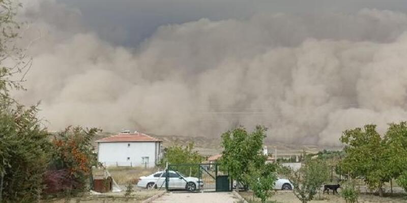 İç Anadolu'nun güneyi için 'toz fırtınası' uyarısı