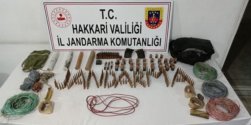 Terör örgütü PKK'ya Hakkari'de darbe