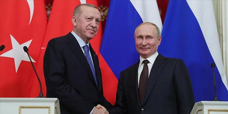 SON DAKİKA: Cumhurbaşkanı Erdoğan ve Putin'den Dağlık Karabağ görüşmesi