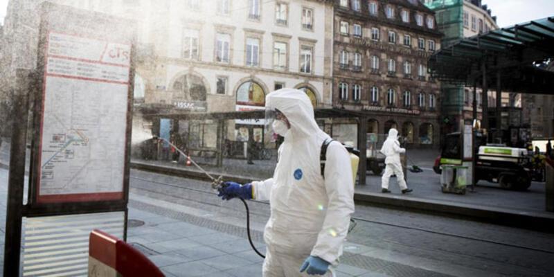 Fransa'da son 24 saatte 23 bin 852 koronavirüs vakası!