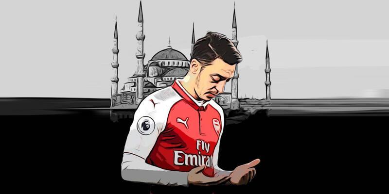 """Son dakika... Mesut Özil'den """"Eyüp Sultan"""" paylaşımı"""