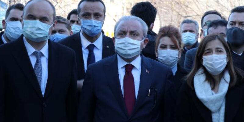 TBMM Başkanı Şentop: Aşı salgının hızını azaltacak