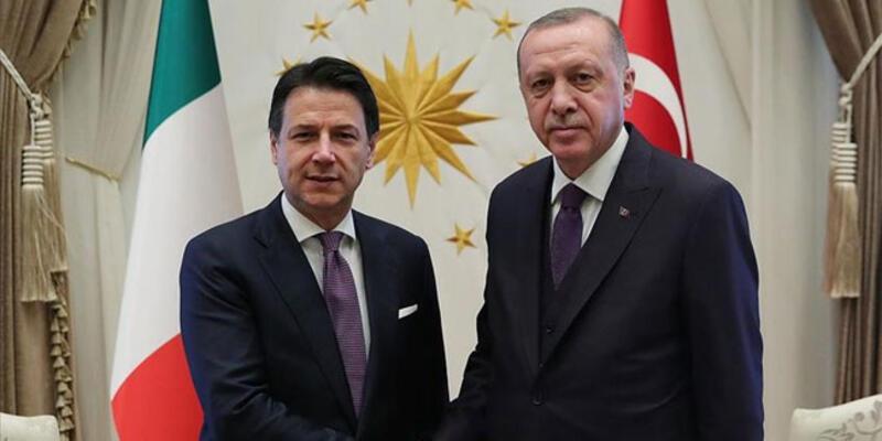 Son dakika haberi... Cumhurbaşkanı Erdoğan, İtalya Başbakanı Conte ile görüştü