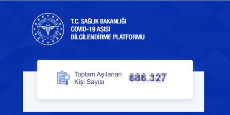 700 bini aştı! Türkiye'de kaç kişi koronavirüs aşısı oldu? Sağlık Bakanlığı aşı takip 17 Ocak 2021