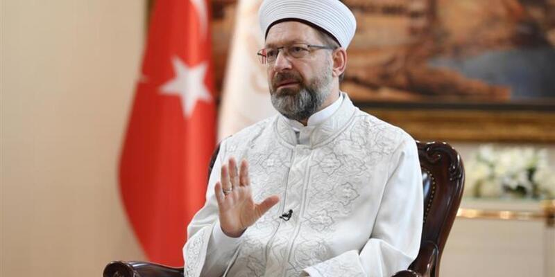 Diyanet İşleri Başkanı Erbaş'tan,Yunan Başpiskoposa tepki