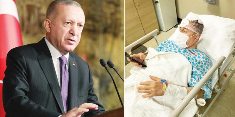 Cumhurbaşkanı Erdoğan'dan Selçuk Özdağ'a 'geçmiş olsun' telefonu