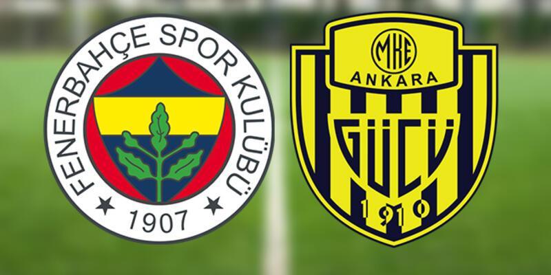 Fenerbahçe Ankaragücü maçı ne zaman, saat kaçta? FB Ankaragücü muhtemel 11'leri
