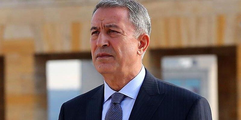 Bakan Akar, Bağdat'ta Irak İçişleri Bakanı El Ganimi ile görüştü