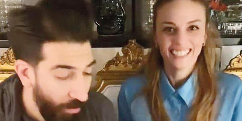 Nilperi Şahinkaya sevgilisinin yeni yaşını kutladı