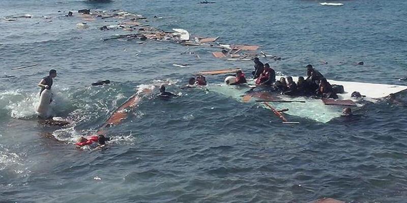 Son dakika... Akdeniz'de göçmen teknesi battı, en az 43 kişi hayatını kaybetti