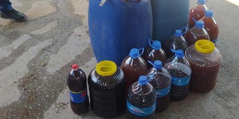 Manisa'da 670 litre 'sahte içki' ele geçirildi